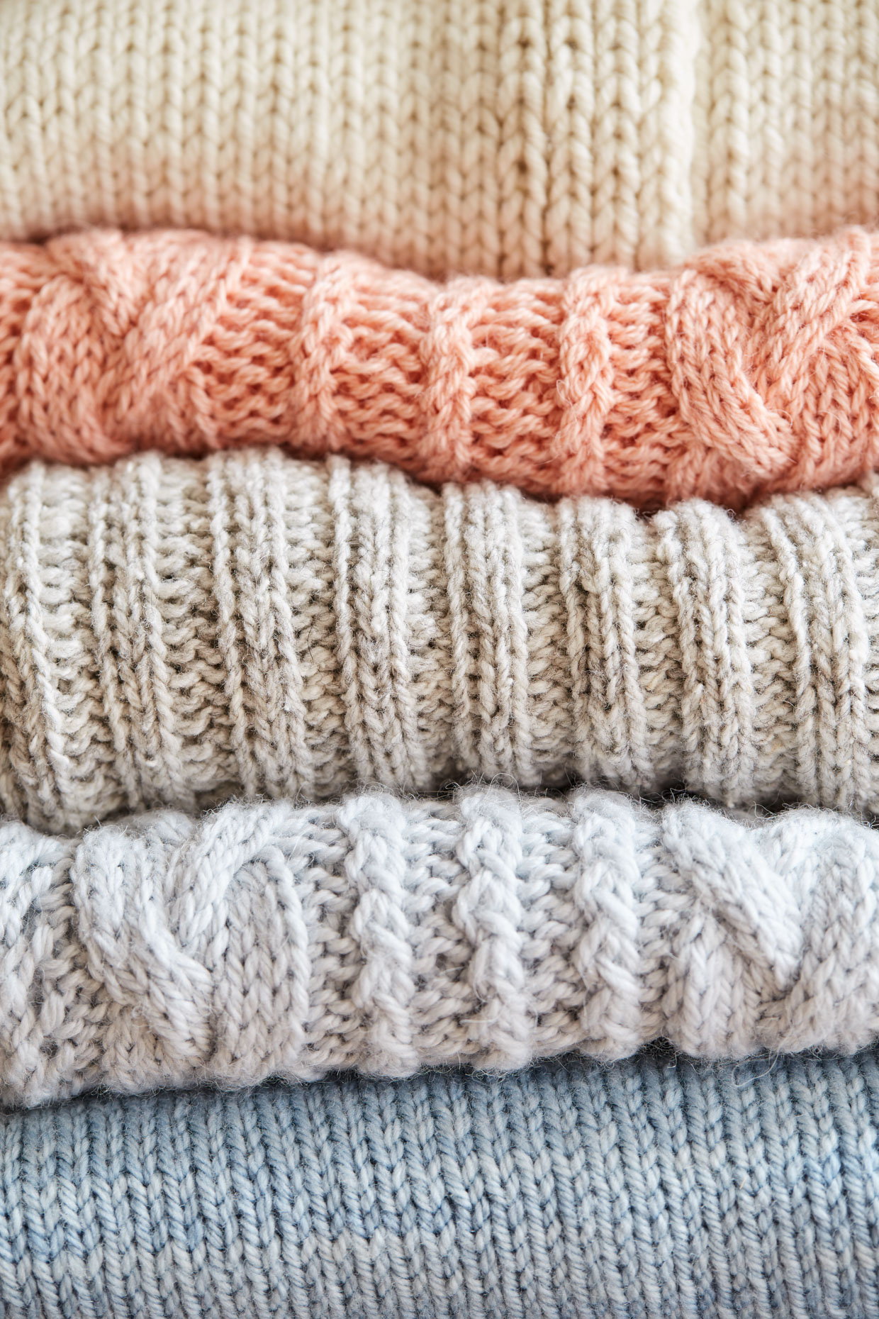 Knit Sweater Details