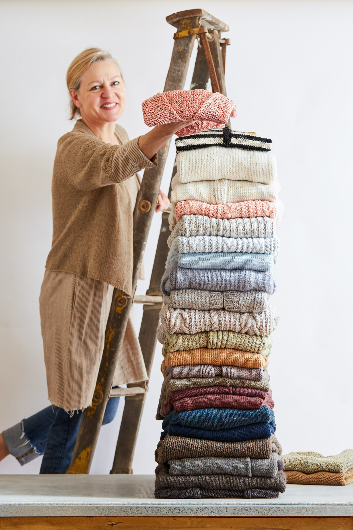 Coco Knits Sweater Stack